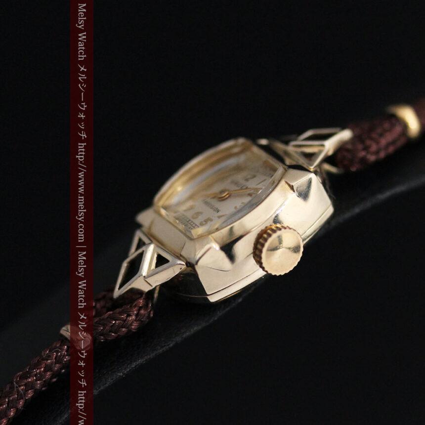 グリュエンの女性用腕時計トライアングル-W1450-11