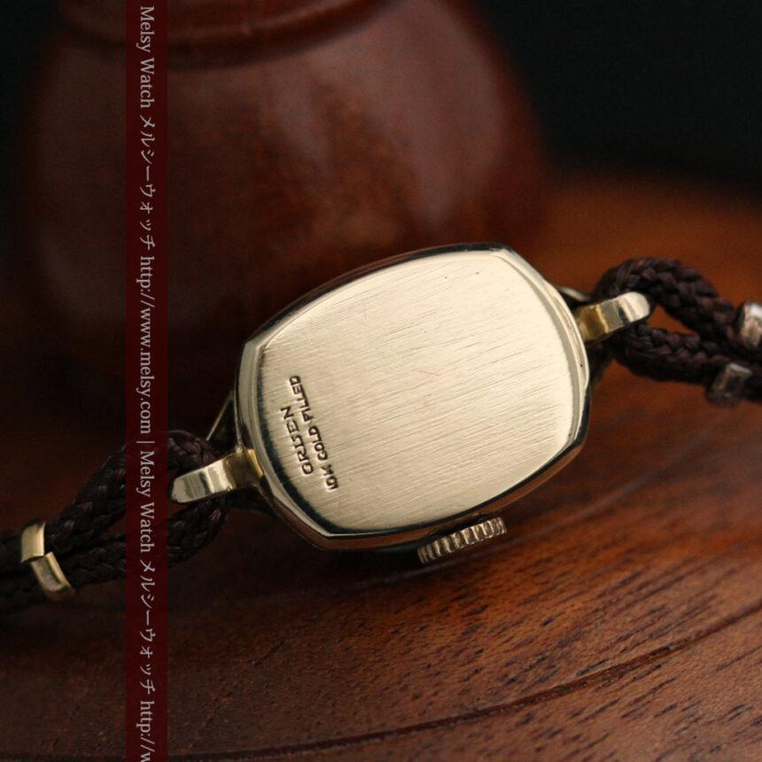 グリュエンの女性用腕時計トライアングル-W1450-12