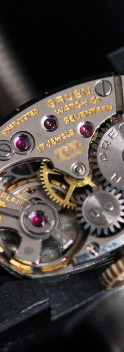 グリュエンの女性用腕時計トライアングル-W1450-14