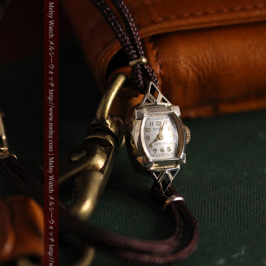 グリュエンの女性用腕時計トライアングル-W1450-5