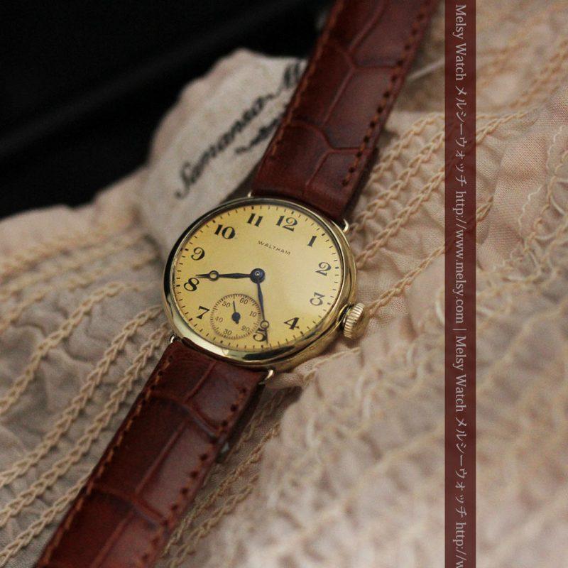 ウォルサムのシンプルな女性用アンティーク腕時計-W1451-1
