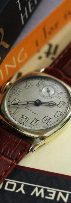 ロンジンのカジュアルなアンティーク腕時計-W1452-1