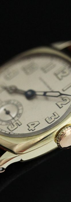 ロンジンのカジュアルなアンティーク腕時計-W1452-10