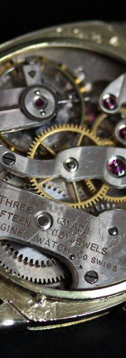 ロンジンのカジュアルなアンティーク腕時計-W1452-14