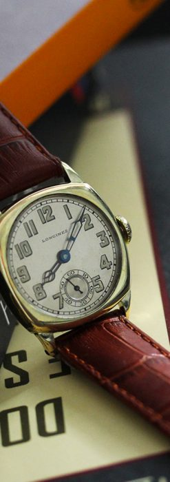 ロンジンのカジュアルなアンティーク腕時計-W1452-2