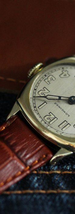 ロンジンのカジュアルなアンティーク腕時計-W1452-4