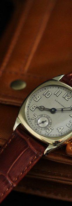 ロンジンのカジュアルなアンティーク腕時計-W1452-6