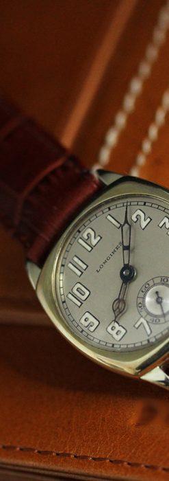 ロンジンのカジュアルなアンティーク腕時計-W1452-7