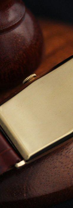 ロンジンの縦長のアンティーク腕時計-W1453-14