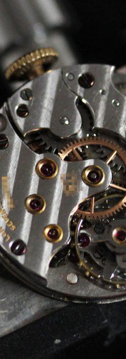 ロンジンの縦長のアンティーク腕時計-W1453-16