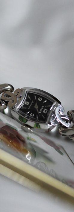 グリュエンの婦人物金無垢腕時計-W1454-2