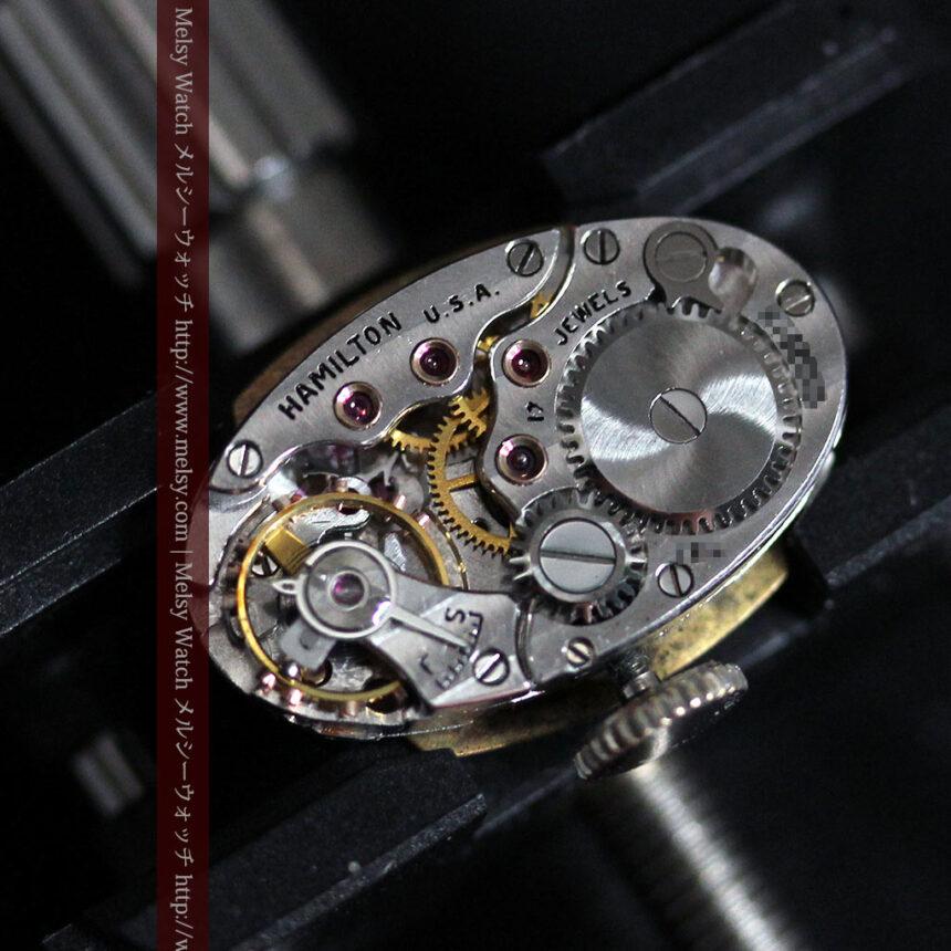 ハミルトン1940年頃の婦人物アンティーク腕時計-W1456-12