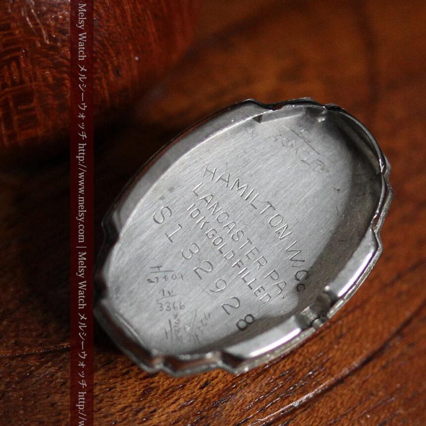 ハミルトン1940年頃の婦人物アンティーク腕時計-W1456-13