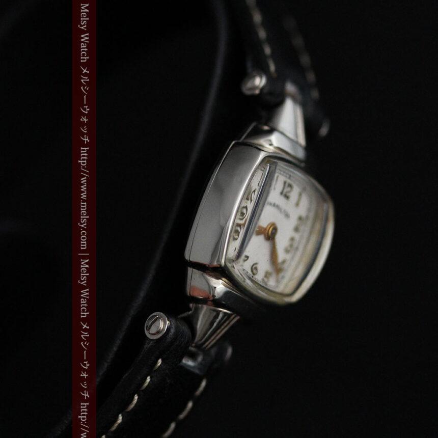 ハミルトン1940年頃の婦人物アンティーク腕時計-W1456-5