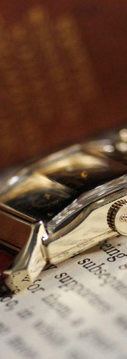 グリュエンの渋さの光るアンティーク腕時計-W1457-12