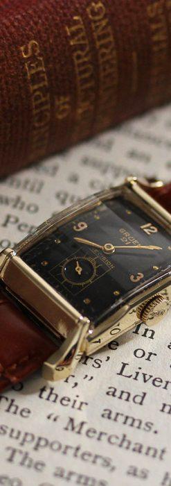 グリュエンの渋さの光るアンティーク腕時計-W1457-3