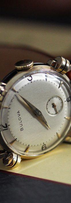 ブローバ1951年製のアンティーク腕時計-W1458-1