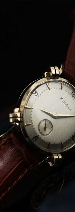 ブローバ1951年製のアンティーク腕時計-W1458-2