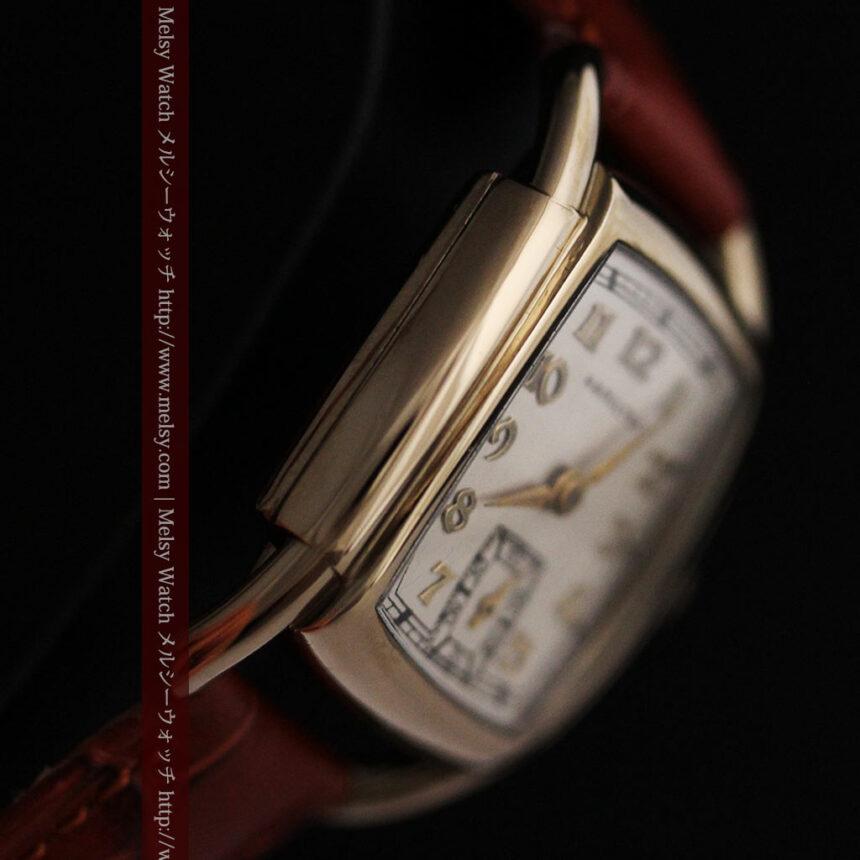 ハミルトンの曲線の綺麗な1940年頃のアンティーク腕時計-W1460-11