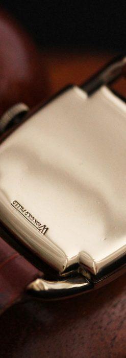ハミルトンの曲線の綺麗な1940年頃のアンティーク腕時計-W1460-12