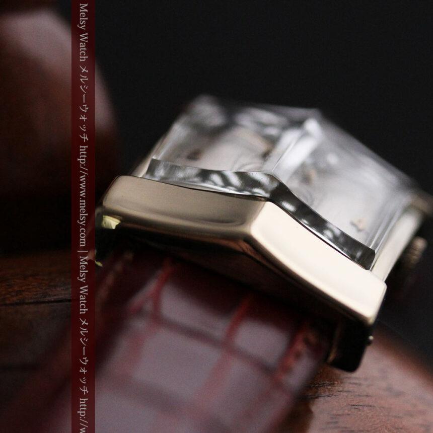 グリュエン騎士の兜のようなアンティーク腕時計-W1461-11