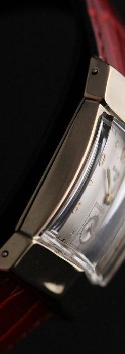 グリュエン騎士の兜のようなアンティーク腕時計-W1461-13