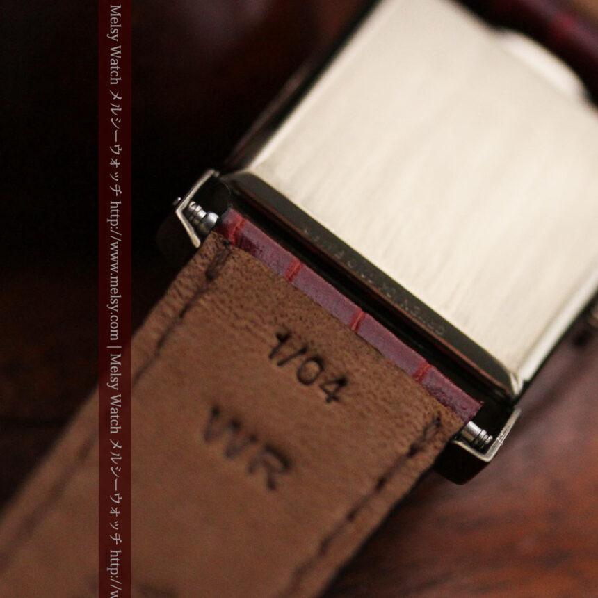 グリュエン騎士の兜のようなアンティーク腕時計-W1461-15