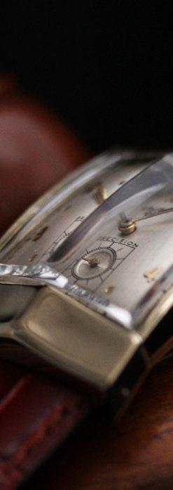 グリュエン騎士の兜のようなアンティーク腕時計-W1461-8