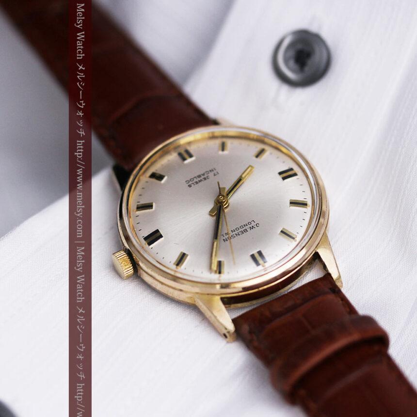 ベンソン レトロ腕時計 昭和年代の醍醐味 【1960年頃】-W1463-1