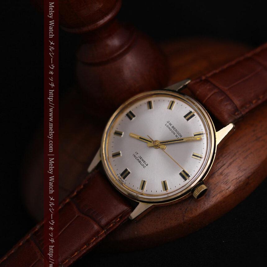 ベンソン レトロ腕時計 昭和年代の醍醐味 【1960年頃】-W1463-10
