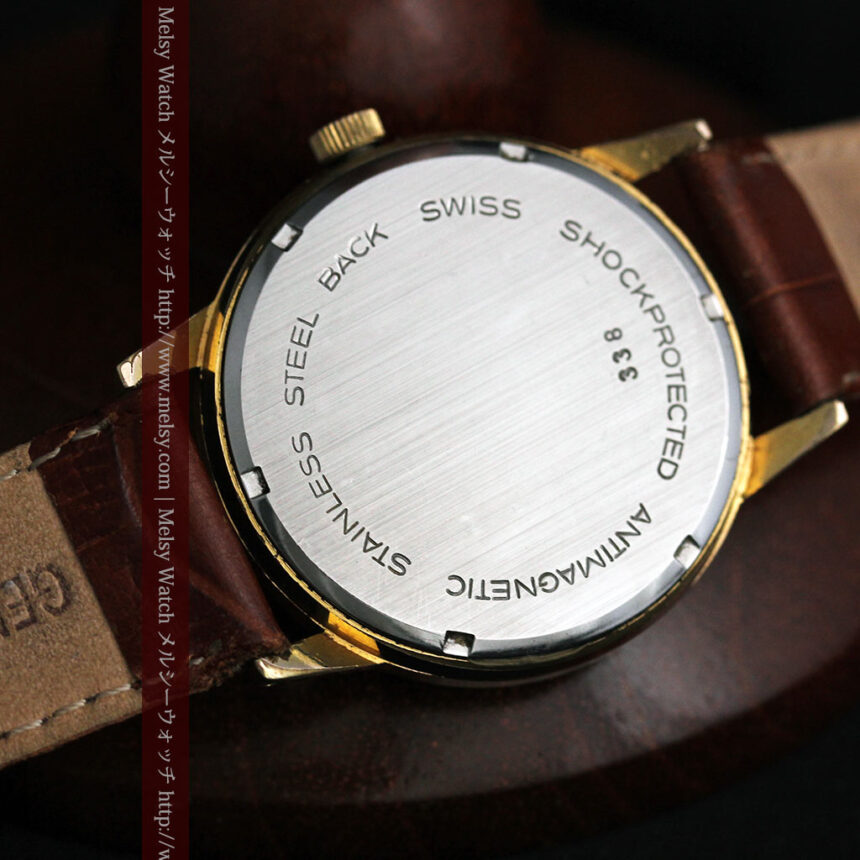 ベンソン レトロ腕時計 昭和年代の醍醐味 【1960年頃】-W1463-12