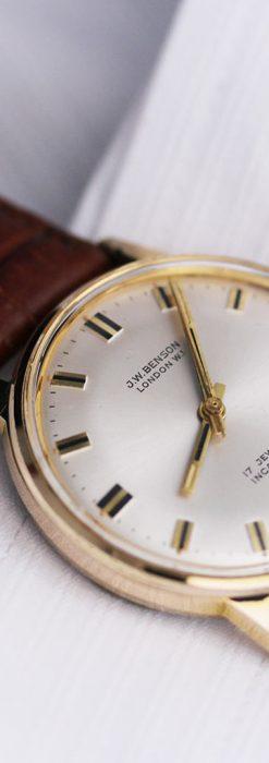 ベンソン レトロ腕時計 昭和年代の醍醐味 【1960年頃】-W1463-2
