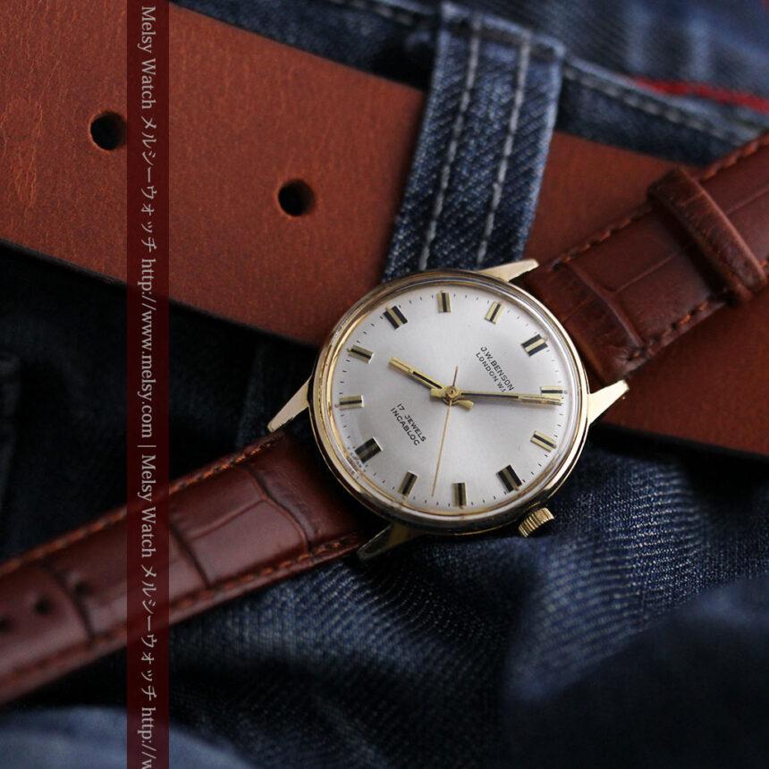 ベンソン レトロ腕時計 昭和年代の醍醐味 【1960年頃】-W1463-6