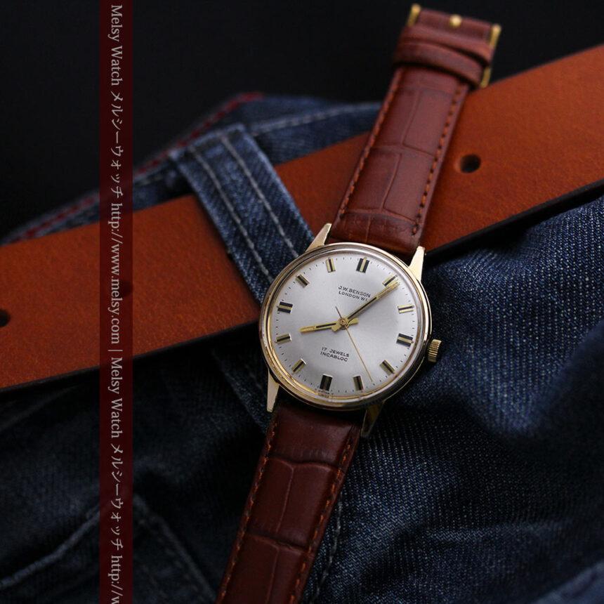 ベンソン レトロ腕時計 昭和年代の醍醐味 【1960年頃】-W1463-7