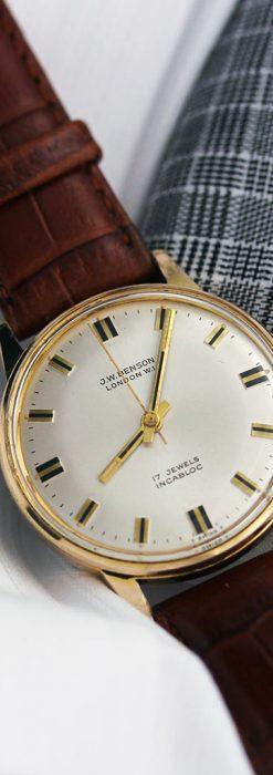 ベンソン レトロ腕時計 昭和年代の醍醐味 【1960年頃】-W1463-8
