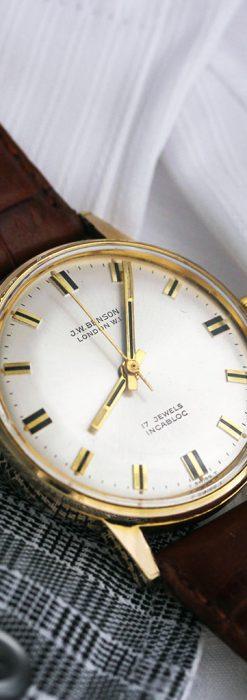 ベンソン レトロ腕時計 昭和年代の醍醐味 【1960年頃】-W1463-9