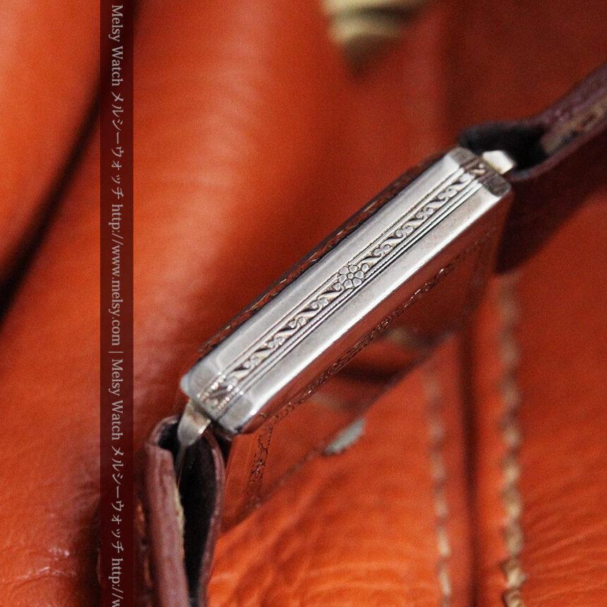 個性の光るグリュエン 女性用アンティーク腕時計【1920年頃】-W1464-13
