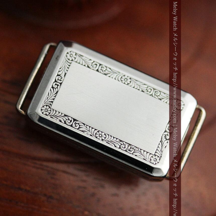 個性の光るグリュエン 女性用アンティーク腕時計【1920年頃】-W1464-14