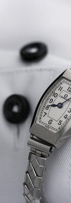 長く使いたくなるデザインのオメガの女性用アンティーク腕時計【1938年製】-W1468-1