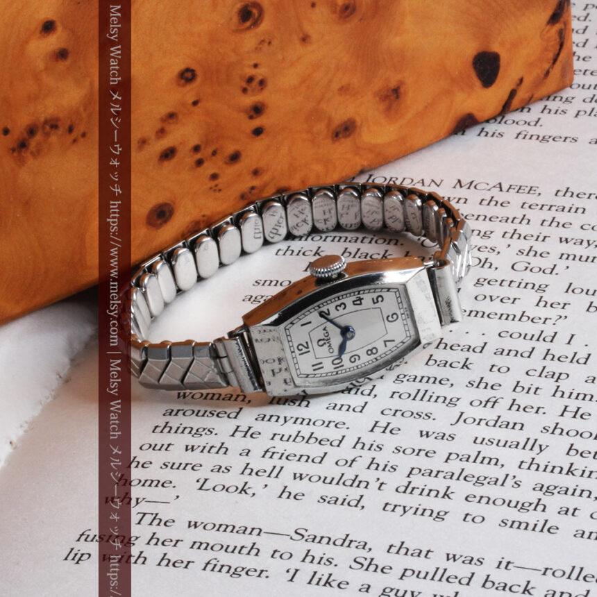 長く使いたくなるデザインのオメガの女性用アンティーク腕時計【1938年製】-W1468-10