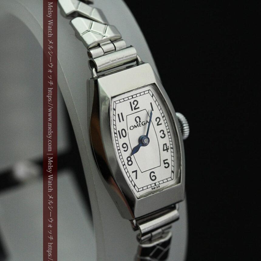 長く使いたくなるデザインのオメガの女性用アンティーク腕時計【1938年製】-W1468-12