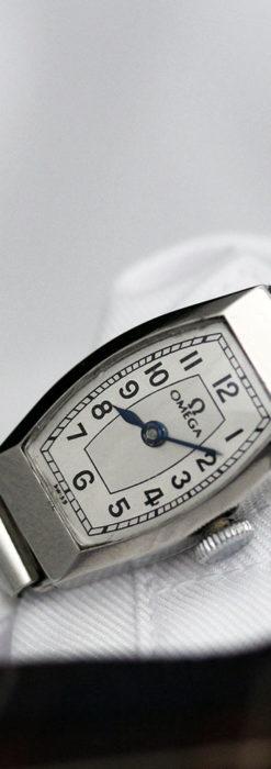 長く使いたくなるデザインのオメガの女性用アンティーク腕時計【1938年製】-W1468-2
