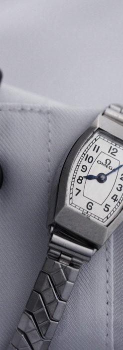 長く使いたくなるデザインのオメガの女性用アンティーク腕時計【1938年製】-W1468-3