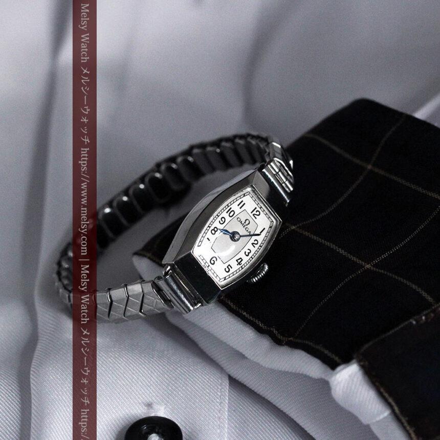 長く使いたくなるデザインのオメガの女性用アンティーク腕時計【1938年製】-W1468-4