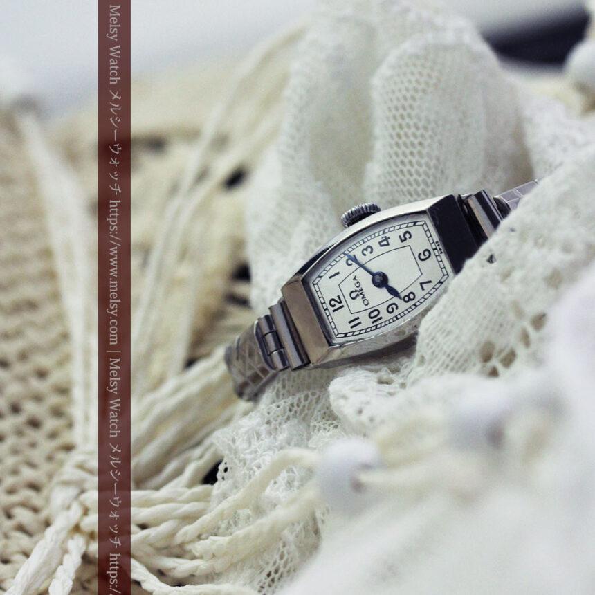 長く使いたくなるデザインのオメガの女性用アンティーク腕時計【1938年製】-W1468-5
