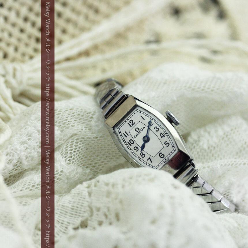 長く使いたくなるデザインのオメガの女性用アンティーク腕時計【1938年製】-W1468-6