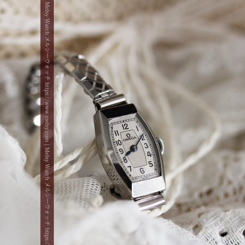 長く使いたくなるデザインのオメガの女性用アンティーク腕時計【1938年製】-W1468-7