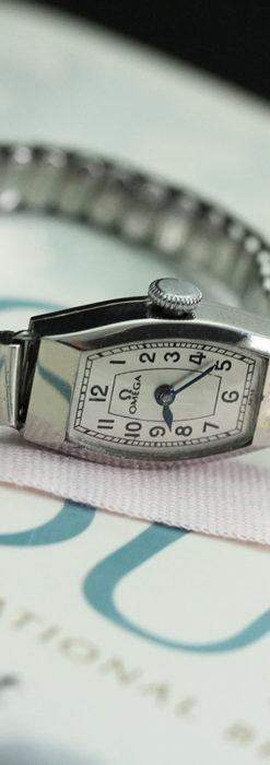 長く使いたくなるデザインのオメガの女性用アンティーク腕時計【1938年製】-W1468-8