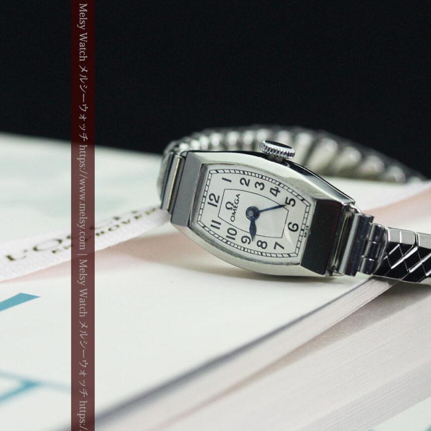 長く使いたくなるデザインのオメガの女性用アンティーク腕時計【1938年製】-W1468-9