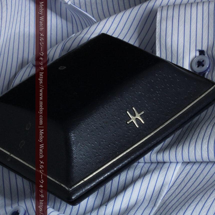 ハミルトンの上品な姿の女性用金無垢腕時計 【1960年頃】-W1469-14